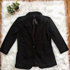 NEW Metaphor Missy Blazer Jacket M Black Career